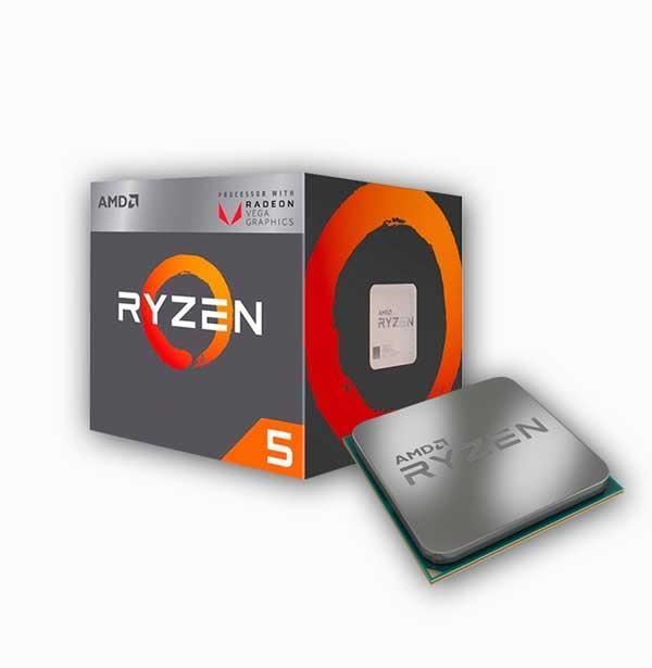 CPU AMD Ryzen 5 2400G 3 6 GHz