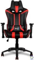 Ghế Gamer AEROCOOL AC-120 — Black/Red